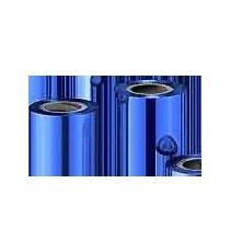 Résine Bleue Métallique 152mmx300m