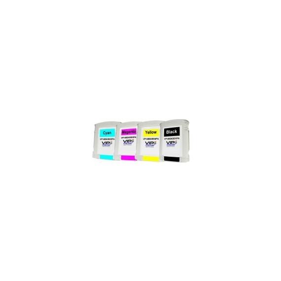 PACK 16 cartouches : 4 cartouches de chaque couleur VIP COLOR VP485