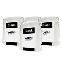 Boite de 10 cartouches d'encre Noir VIP COLOR VP 495
