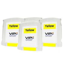 Boite de 20 cartouches d'encre Jaune VIP COLOR VP495