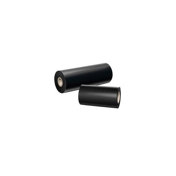 Ruban transfert thermique 110 mm x 300 m cire/résine noir