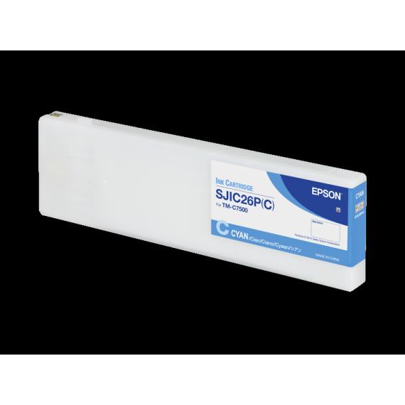 Encre Epson C7500 Cyan 294,3 ml