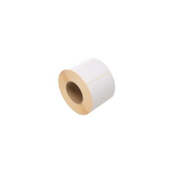 Etiquettes 65x65mm / Papier velin blanc / Bobine échenillée de 625 étiquettes GS